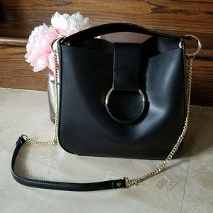 ZARA handbag - black